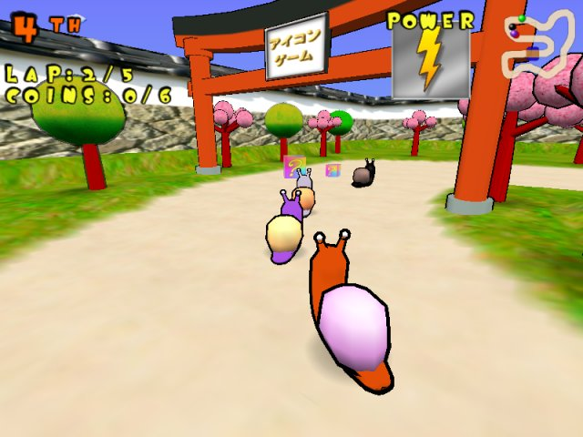 ICON Games ]::  - Snail Racers